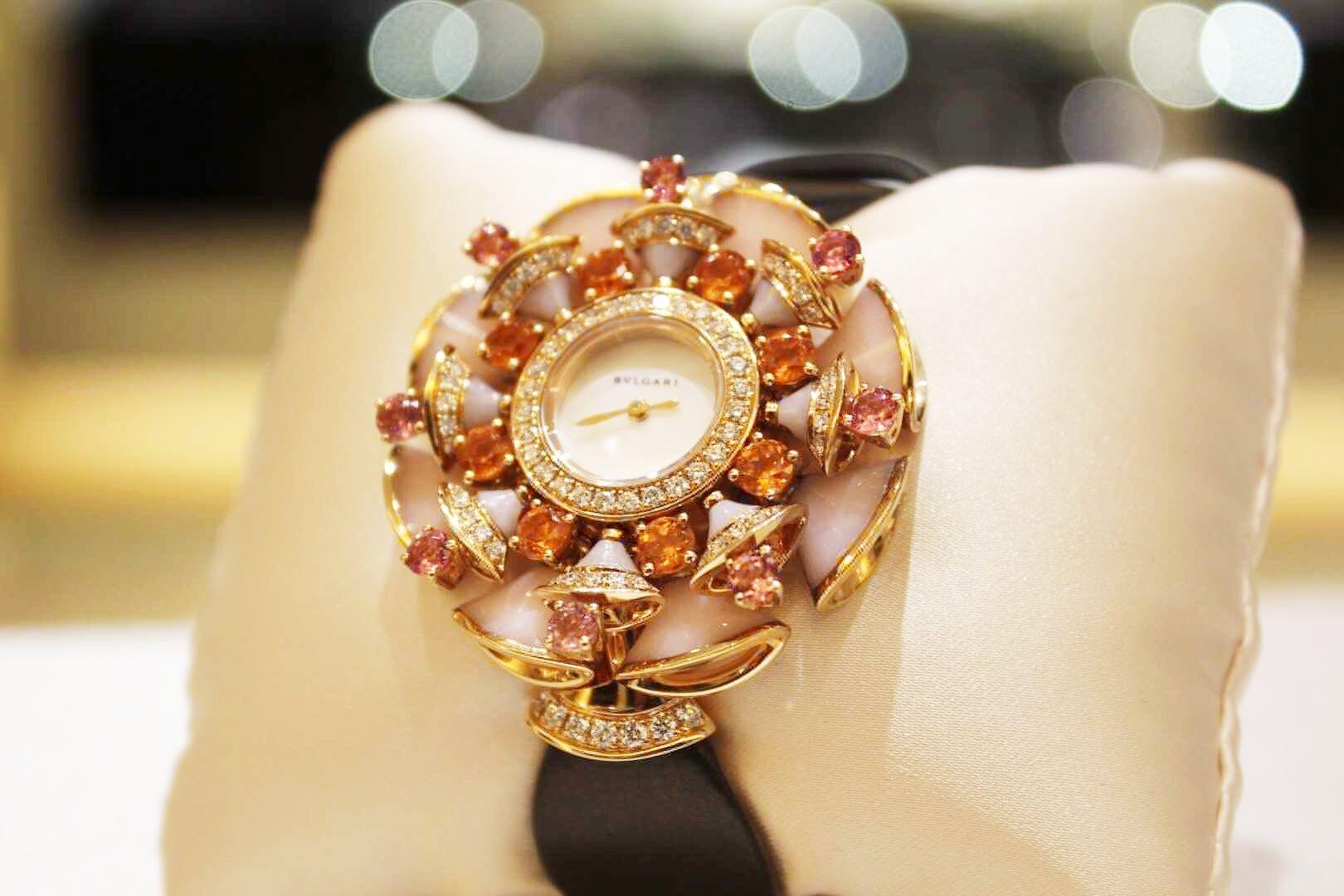 BVLGARI宝格丽女表DIVAS'DREAM 珠宝腕表系列 39mm 102420插图