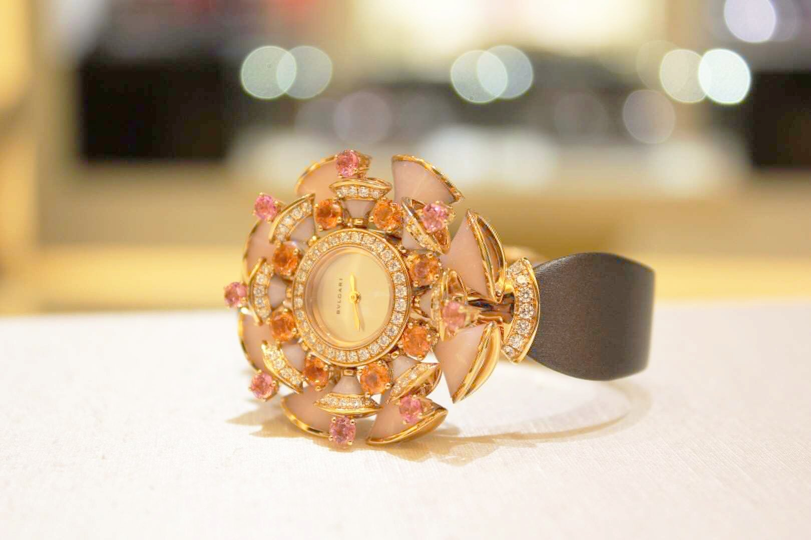 BVLGARI宝格丽女表DIVAS'DREAM 珠宝腕表系列 39mm 102420插图1