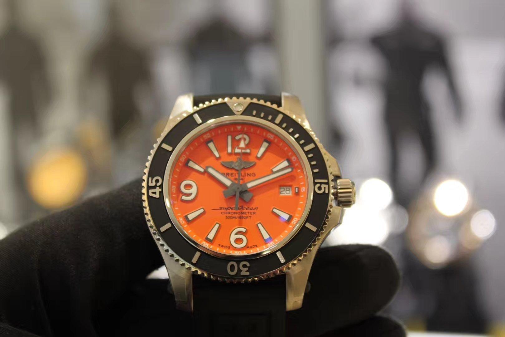 BREITLING百年灵Superoean超级海洋系列,潜水员专业潜水腕表插图1