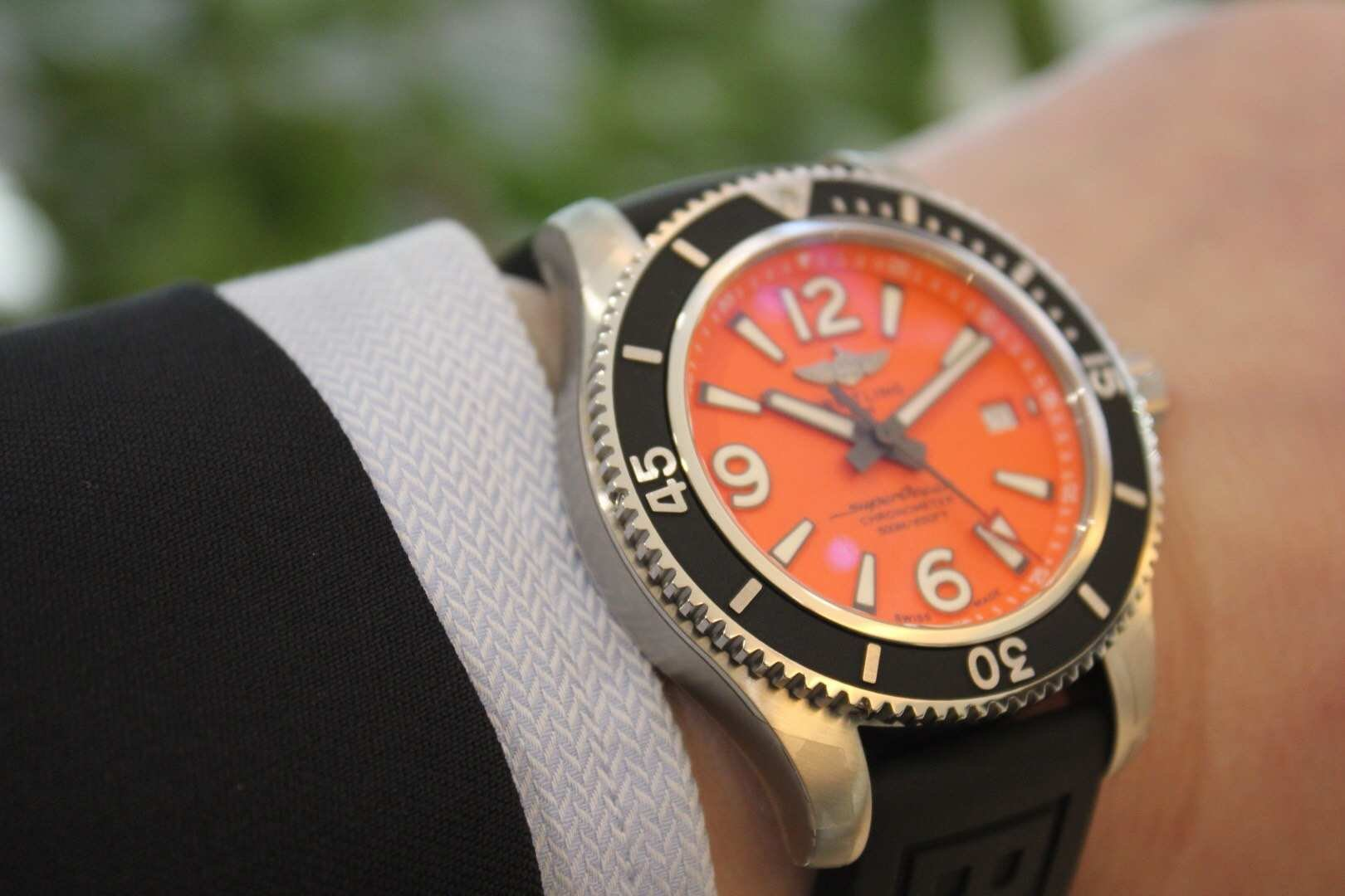 BREITLING百年灵Superoean超级海洋系列,潜水员专业潜水腕表插图2